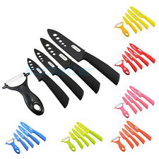 "3""+4""+5""+6"" +Peeler Fruit Vegetable Ceramic Knives Set Chef Kitchen Cutlery Tool"