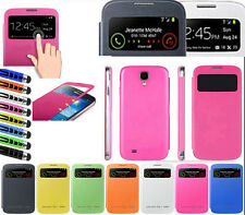 Hot Sale S-VIEW Flip Smart Case Battery Cover For Samsung GALAXY S4 Mini I9190