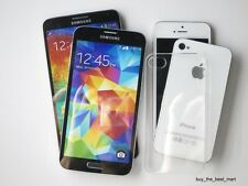 Wholesale 10X 20X Ultra Thin Crystal Clear Case for iPhone 4S 5S Samsung Galaxy