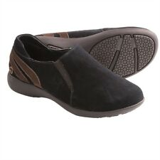 Old Friend Women's Denise Wide Slip On Moccasin Casual Shoes Black PM447502