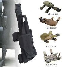 Waterproof UTG Military Tactical Army Gun Holster Drop leg Thigh Pistol Hunting