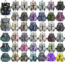 Womens Girls Anna Smith LYDC Backpack Rucksack School College Shoulder Hand bag