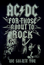 AC/DC-For Those About To Rock We Salute You-T-Shirt-2014 Official Merchandise