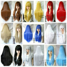 Hot Sale! New Women's Multi-Color Anime Cosplay Wigs 80cm/32inch