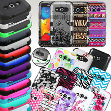 HYBRID RUBBER HARD IMPACT SHOCK PROOF TUFF HARD CASE COVER FOR SAMSUNG GALAXY