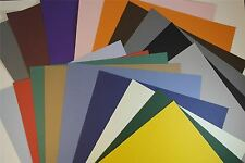 Textured A4 Coloured Craft Paper & Card Stucco Hammered 135 GSM 270 GSM 10 packs