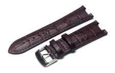 Genuine Leather Crocodile Watch Strap / Band Replacement for Kenneth Cole KC1715