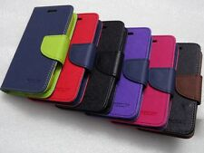 SAMSUNG GALAXY S DUOS 2  S7562 S7582 MERCURY WALLET STYLE FLIP DIARY CASE COVER