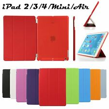 For iPad 4 2 3 Air mini Ultra Slim Folio Magnetic Leather Case Smart Stand Cover