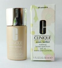 Clinique Even Better Makeup SPF15 for Dry Comb/Comb Oily Skin 1 Oz (30 ml), NIB
