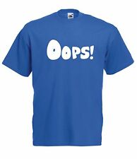 OOPS funny skateboard music punk dance dubstep gift tee NEW Boys Girls T SHIRT