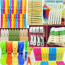 Plastic,S- Steel, Wooden,Jumbo,Big,Small,Hanger Laundry Clothes, Pegs,Clips,Pins