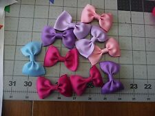 1.5 inch SOLID Small Handmade Exchangeable BOWS for Carols Crate Cover Dog Items
