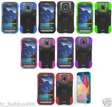 Samsung Galaxy S5 Sport SM-G860 (Sprint) Phone Cover T-STAND Case & SCREEN GUARD