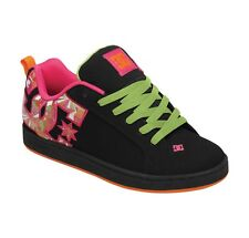 DC Shoes Women's Court Graffik SE Shoes Green  Traniers kicks Skate Sneakers