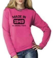 Made in 1949 Women Sweatshirt 65th Birthday Funny Gift Idea Present Father's day