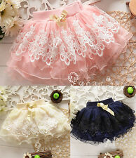 Baby Girls Princess Tutu Mini Skirt Summer Sundress Tutus Dress Kids Short Skirt