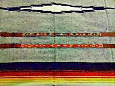 Beaded Indian Native American Navajo Boho Style Thunderbird Arrow Leather Belt