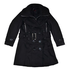 Yoki Toddler Girls Black Wool Coat Size 2T 3T 4T $68