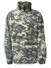 military fleece field shirt turtleneck 1/4 zipper acu digital camo microfleece