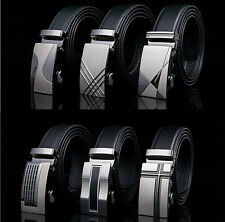 Men belt buckles, Real leather Belt. Automatic buckles. for man suit. Free Ship