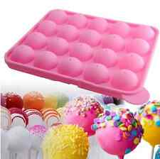 Silicone Baking Tray Cake Candy Lollypop Lollipop Pop mold Sticks Set Tool