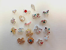 Floating Crystal Charms for Glass Lockets