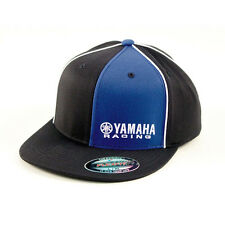 Factory Effex Yamaha Racing Black Blue Flex-Fit Hat Cap Adult Licensed YZ YZF R1