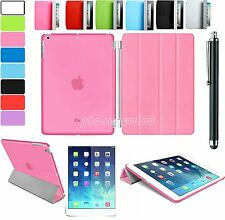Ultra Slim Smart Magnetic Leather Stand Case Cover for New Apple iPad 5 iPad Air