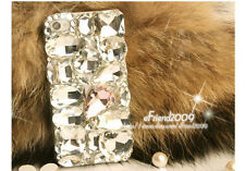 """Bling Shiny Diamante Shaped Diamond Stones Crystal Case For 4.7""""  Apple iPhone 6"""