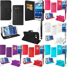 Housses etui coque portefeuille Support Video Samsung Galaxy Core LTE 4G G386F