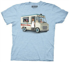 Bob's Burgers Family In Bob's Burger Truck Adult T Shirt Fox TV Funny Cartoon