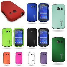 For Samsung Galaxy Ace Style - Hard Snap On Rubberized Shell Phone Cover Case
