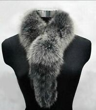 Real Fox Fur Scarfs Shawls Scarves Wraps Cape Vest A45