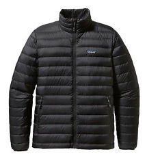 Patagonia DOWN SWEATER 800-Fill GOOSE Jacket Black Ripstop AUTHENTIC Mens NEW
