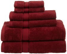Egyptian Cotton Towel Set Bath Room Hand Soft Wash Cloth Pool Shower 6 Oversized
