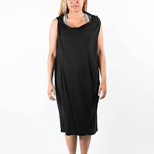 PUMA WOMENS TWIST DRAPE DRESS URBAN MOBILITY HUSSEIN CHALAYAN BLACK 558342 01