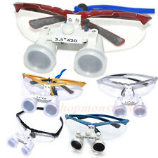 Neu LED Headlight Lamp /Dental Medical Surgical Optical Binocular Loupes Glasses
