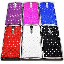 Crystal Bling Cell Phone Hard Case Cover For Sony Xperia S LT26i Xperia Arc HD
