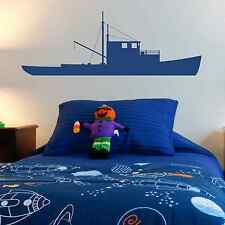 Boats, Fishing, Shrimping, Wall Sticker Decal, SS2280