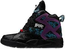 [V56091] REEBOK BLACKTOP BATTLEGROUND BLACK/PURPLE MEN'S SIZE 8 TO 13 NIB