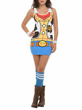 Disney Toy Story Woody Costume Bodycon Dress Size S M L Brand New
