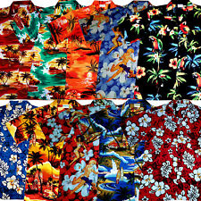 Hawaiian Shirts Shirt / size M - 6XL / 100% cotton  Hawaian Hawaii mens Hawaiian