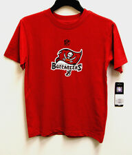 NFL Team Apparel Tampa Bay Buccaneers Red Youth T-Shirt NWT