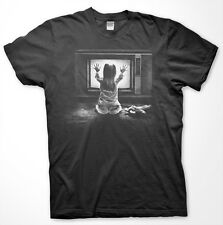 POLTERGEIST - High Quality T Shirt - Halloween HORROR Carol Anne THEY'RE HERE