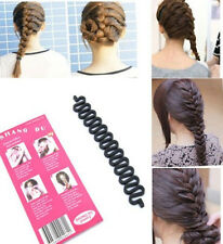 New 3 Colors Hair Braiding Tool Roller With Hook Magic Twist Styling Bun Maker