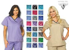 Medical Nursing Scrubs Women Set Top & Pants Nurse Uniform #7870 Scrub Pants