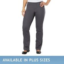 Gloria Vanderbilt Ladies' AVERY Super Stretch Pull On Jeans - GRAY (Select Size)