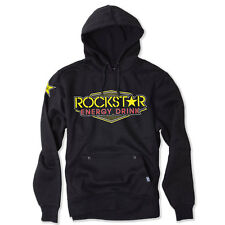 Factory Effex Rockstar Energy Vegas Black Pullover Sweatshirt Hoodie Adult NEW