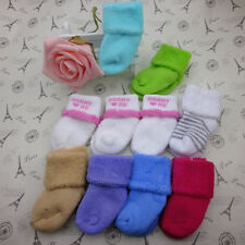 Thick Terry Cotton Autumn Winter Socks Babies Infants Boy Girl